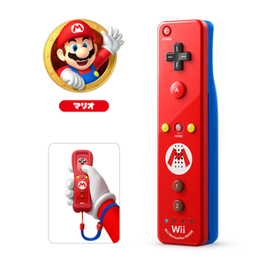 Wii U NINTENDO Official Remote Plus / Super Mario Edition