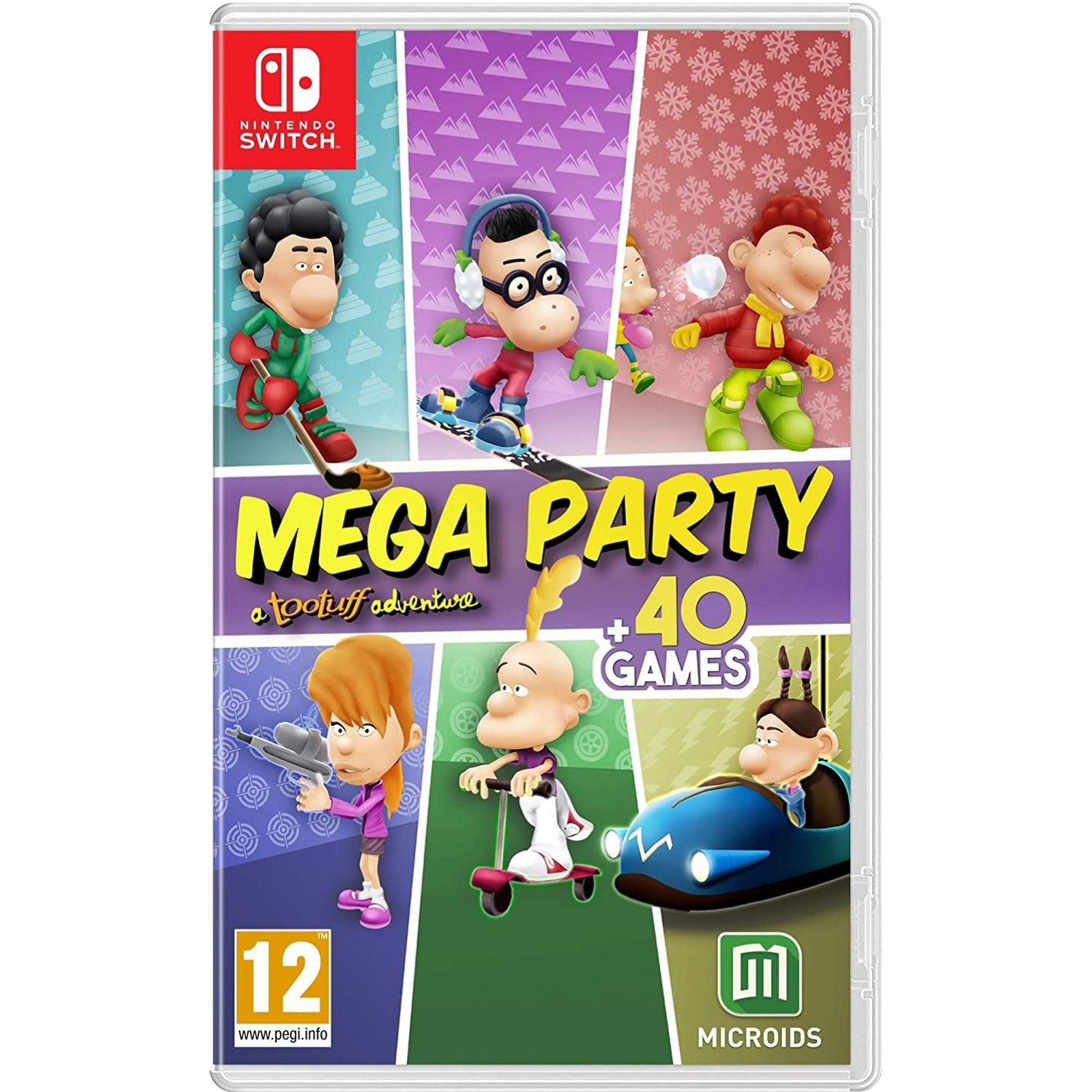 Nintendo Switch Mega Party A Tootuff Adventure