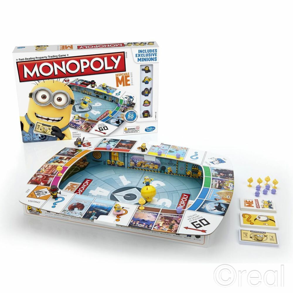 Monopoly Despicable Me Minion Made