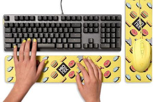 Mionix Long Pad French Fries Wrist Pad or Mouse Pad
