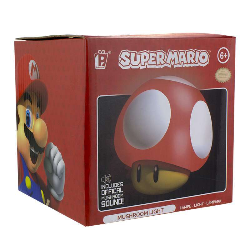 Super Mario Mushroom Light Tabletop Nightlight