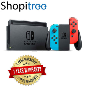 Nintendo Switch Gen 1 Console + 1 Year Local Warranty