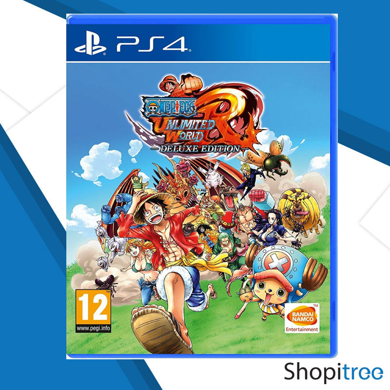 PS4 One Piece: Unlimited World Red Deluxe Edition