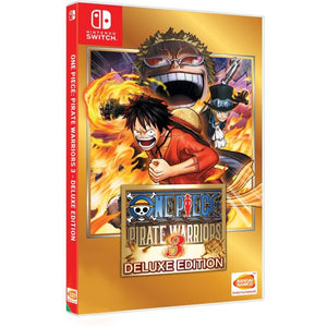 Nintendo Switch One Piece Pirate Warriors 3 Deluxe Edition