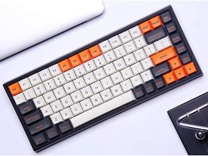 Keycool 84 Keys Hot Swappable Bluetooth Mechanical Keyboard - Orange