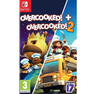 Nintendo Switch Overcooked + Overcooked 2