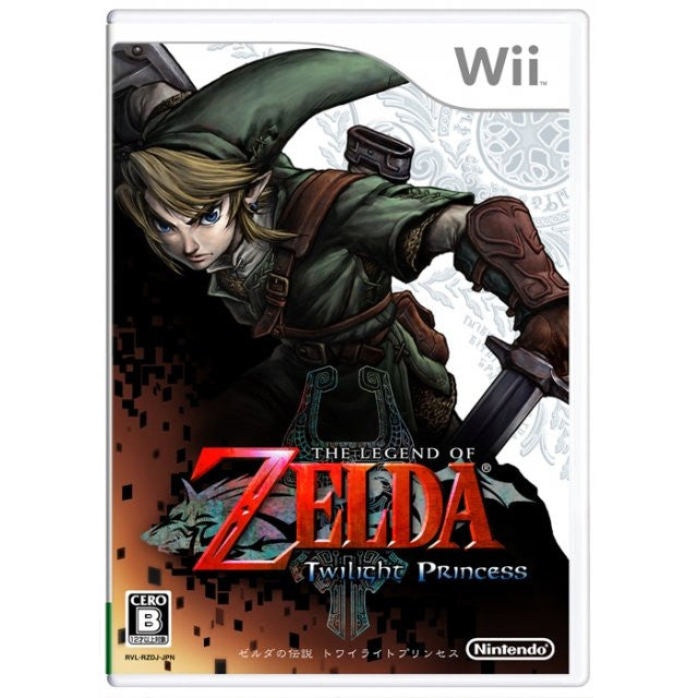 Wii The Legend of Zelda: Twilight Princess (Japanese)