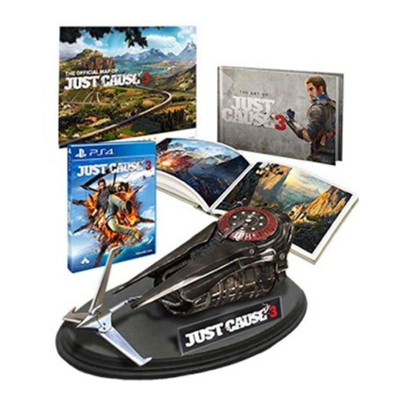 Just cause 3 collector's edition w/grappling hook cex (uk.