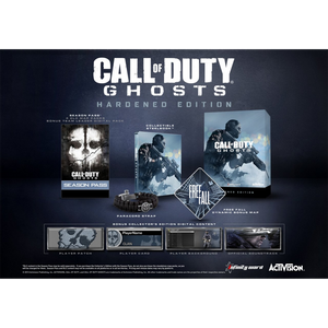 PS4 Call of Duty: Ghosts Hardened Edition