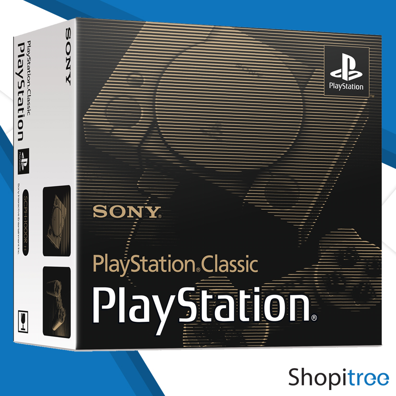 Sony Playstation Classic Console + 1 Year Sony Singapore Warranty