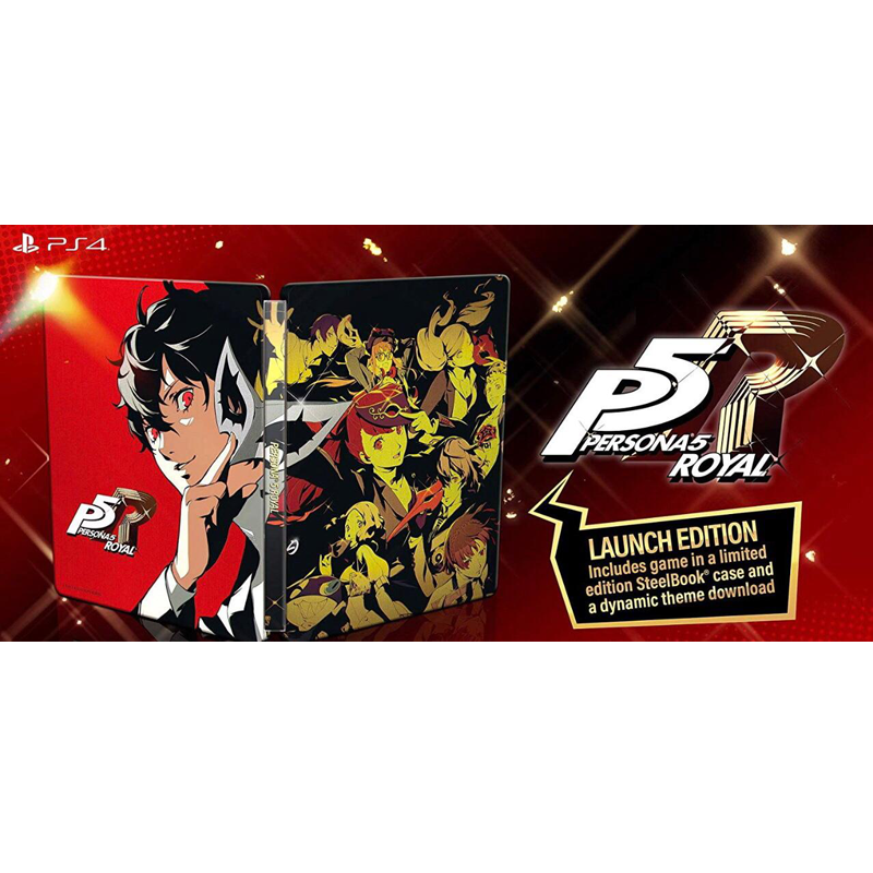 PS4 Persona 5 Royal [Steelbook Edition]