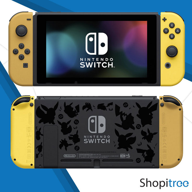 Nintendo Switch Console Pokemon Let's Go Edition (Gen 1)+ 1 Year Warranty By Nintendo Distributor