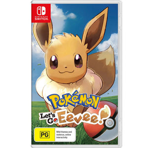 Nintendo Switch Pokemon: Let's Go Eevee (Japanese Cover with English / Chinese Subtitles)