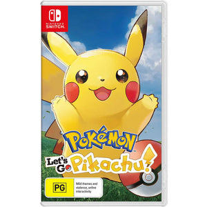 Nintendo Switch Pokemon: Let's Go Pikachu (Japanese Cover with English / Chinese Subtitles)