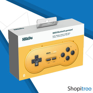8Bitdo SN30 Bluetooth GamePad (GP Yellow Edition)