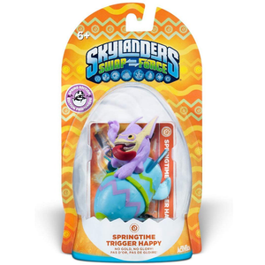 Skylanders SWAP Force Limited Edition Spring 2014 Springtime Trigger Happy Character Pack