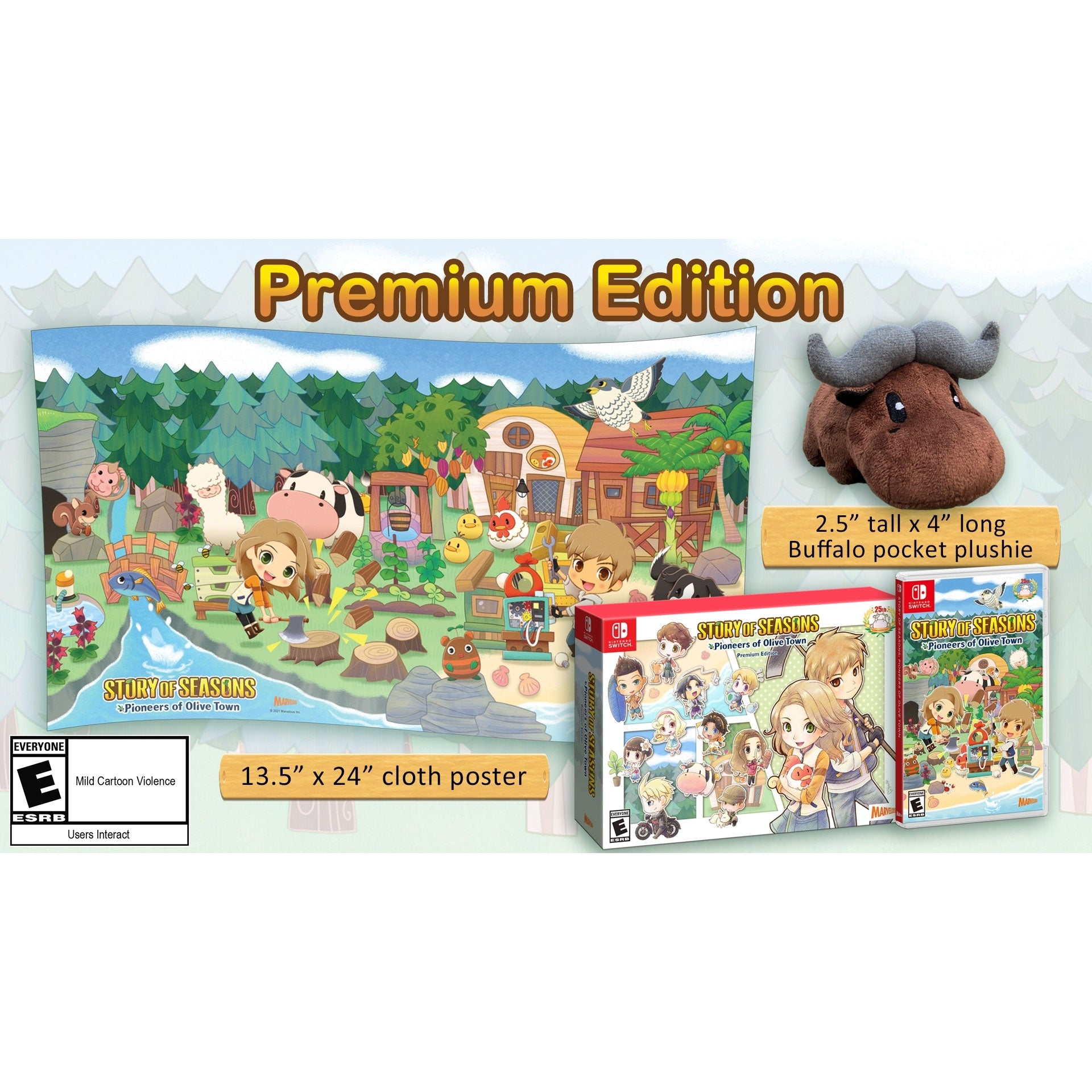 Nintendo Switch Story of Seasons: Pioneers of Olive Town [Premium Edition]