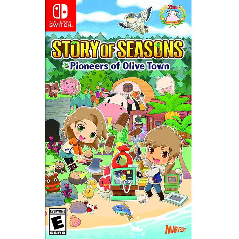 Nintendo Switch Story of Seasons: Pioneers of Olive Town