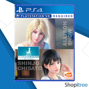 PS4 Summer Lesson: Allison Snow & Chisato Shinjo