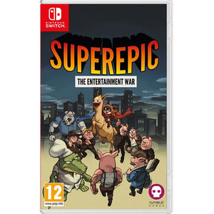 Nintendo Switch SuperEpic: The Entertainment War