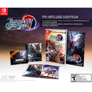 Nintendo Switch The Legend of Heroes Trails of Cold Steel IV Frontline Edition