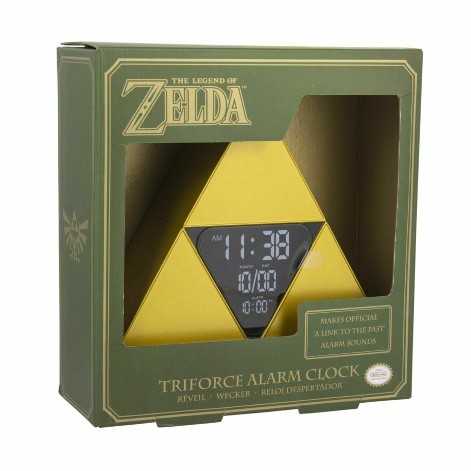 The Legend of Zelda Triforce Alarm Clock