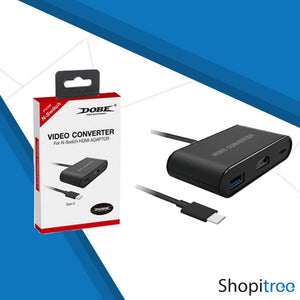Dobe HDMI Video Converter for Nintendo Switch