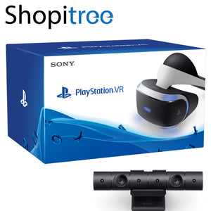 Sony PlayStation VR w PS4 Camera + 2 FREE Games + Move Controllers (Version 2)