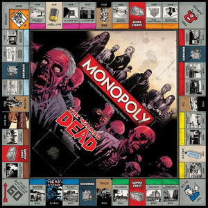 Monopoly The Walking Dead Survival Editon