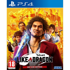 PS4 Yakuza: Like a Dragon Day Ichi SteelBook Edition