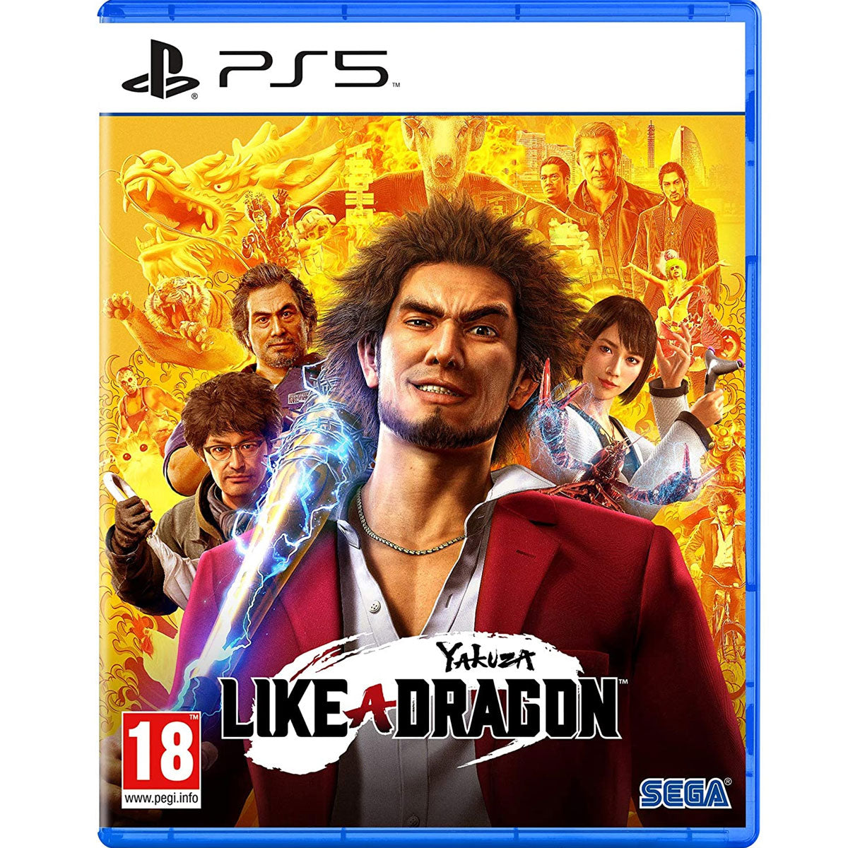 PS5 Yakuza 7 International a.k.a. Yakuza: Like a Dragon