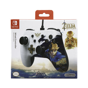 PowerA Wired Controller for Nintendo Switch – Link (Character Series)
