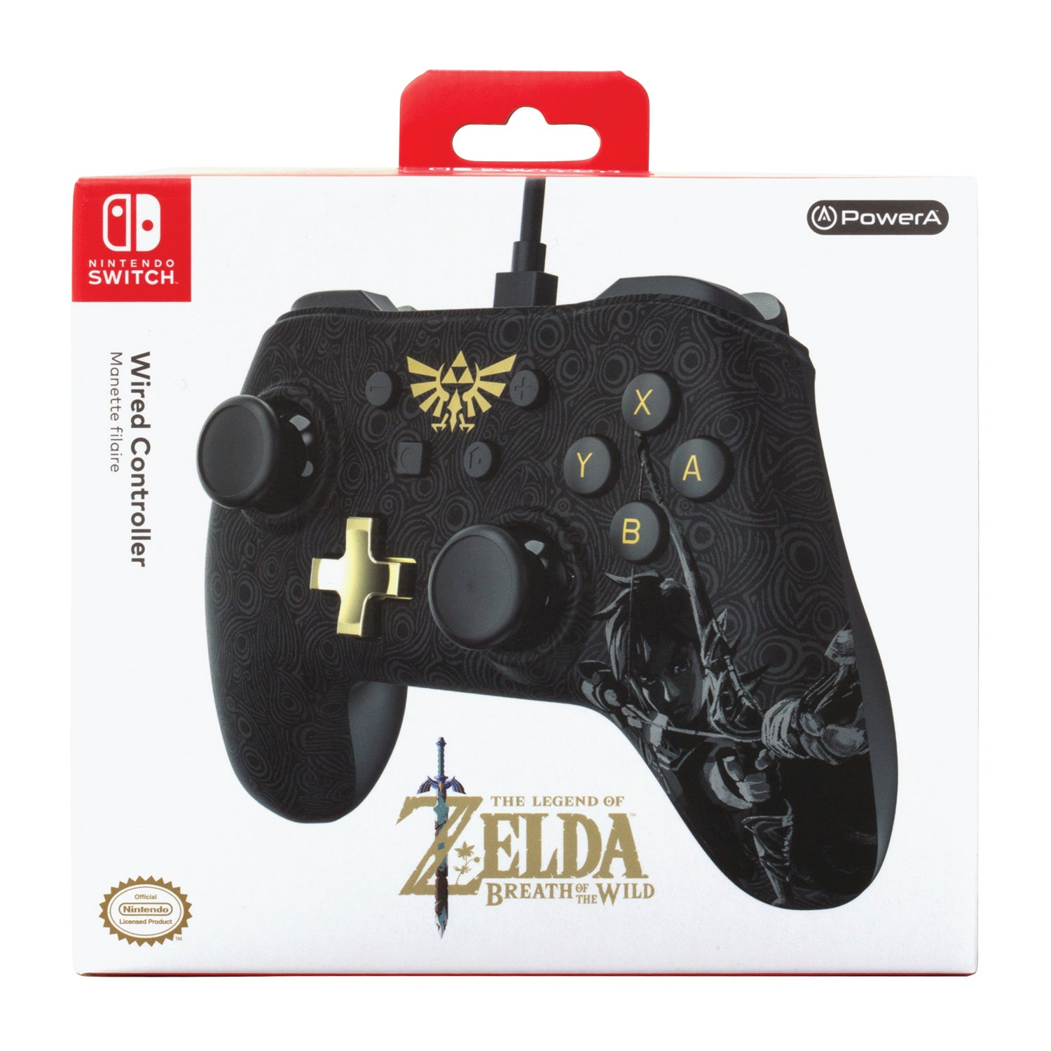 PowerA Wired Controller for Nintendo Switch, The Legend of Zelda: Breath of the Wild