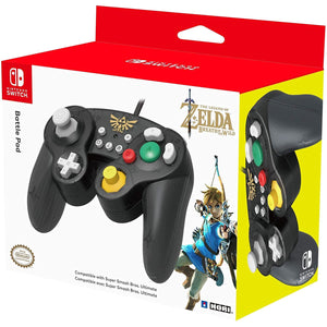 Hori Battle Pad (Zelda) Controller for Nintendo Switch (Wired)