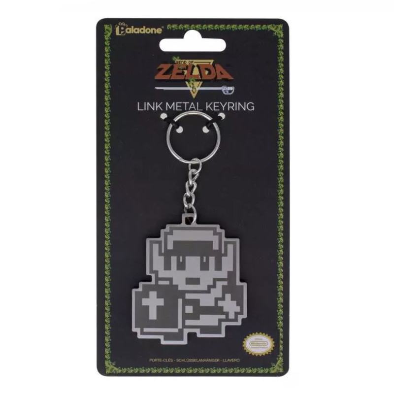 The Legend of Zelda Link Metal Keychain