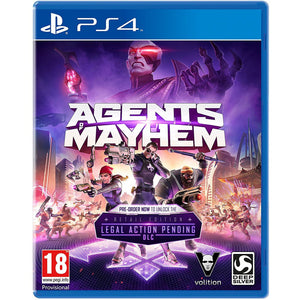 PS4 Agents of Mayhem