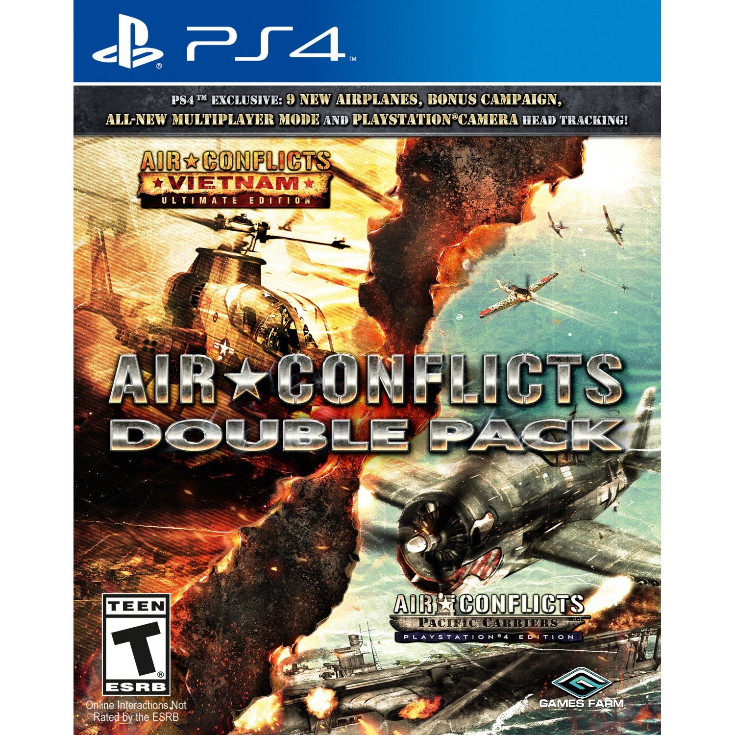 PS4 Air Conflicts: Double Pack