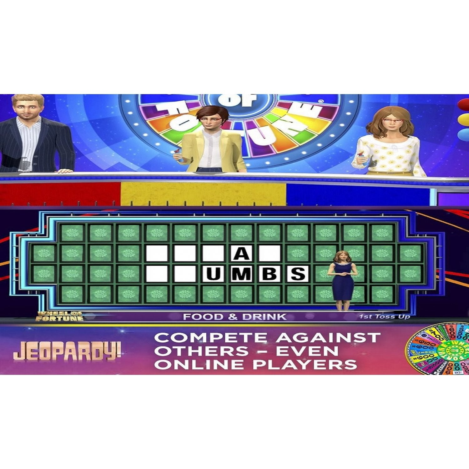 Wheel of fortune jeopardy game