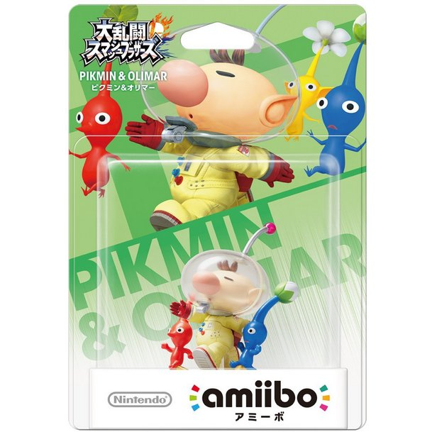 Amiibo Super Smash Bros. Series Figure - Pikmin & Olimar