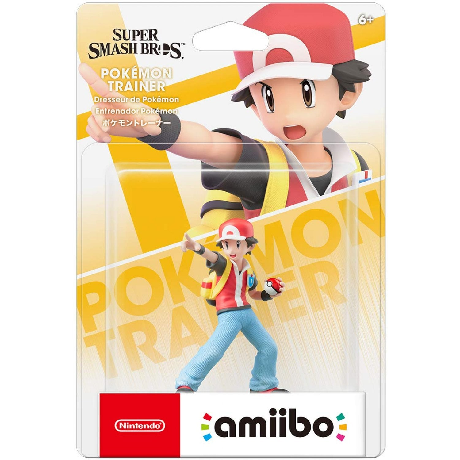 Amiibo Super Smash Bros Series Figure (Pokémon Trainer)