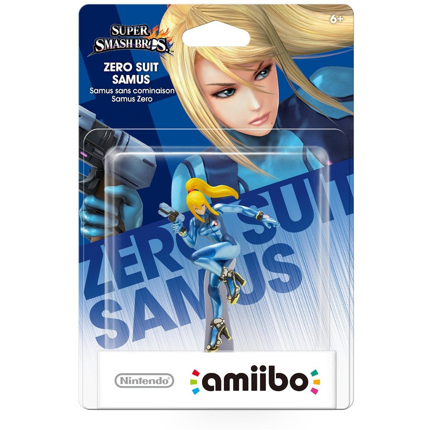 Amiibo Super Smash Bros Series Figure (Zero Suit Samus)