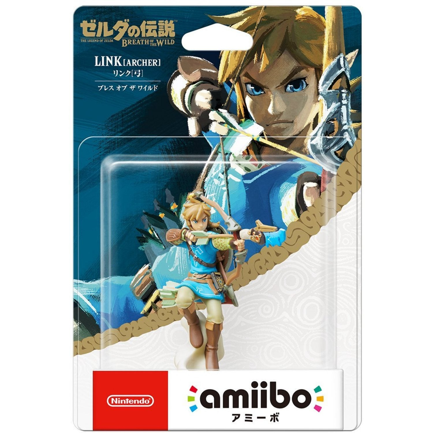 Amiibo The Legend of Zelda: Breath of the Wild Series Figure (Link: Archer)