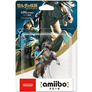 Amiibo The Legend of Zelda: Breath of the Wild Series Figure (Link: Rider)
