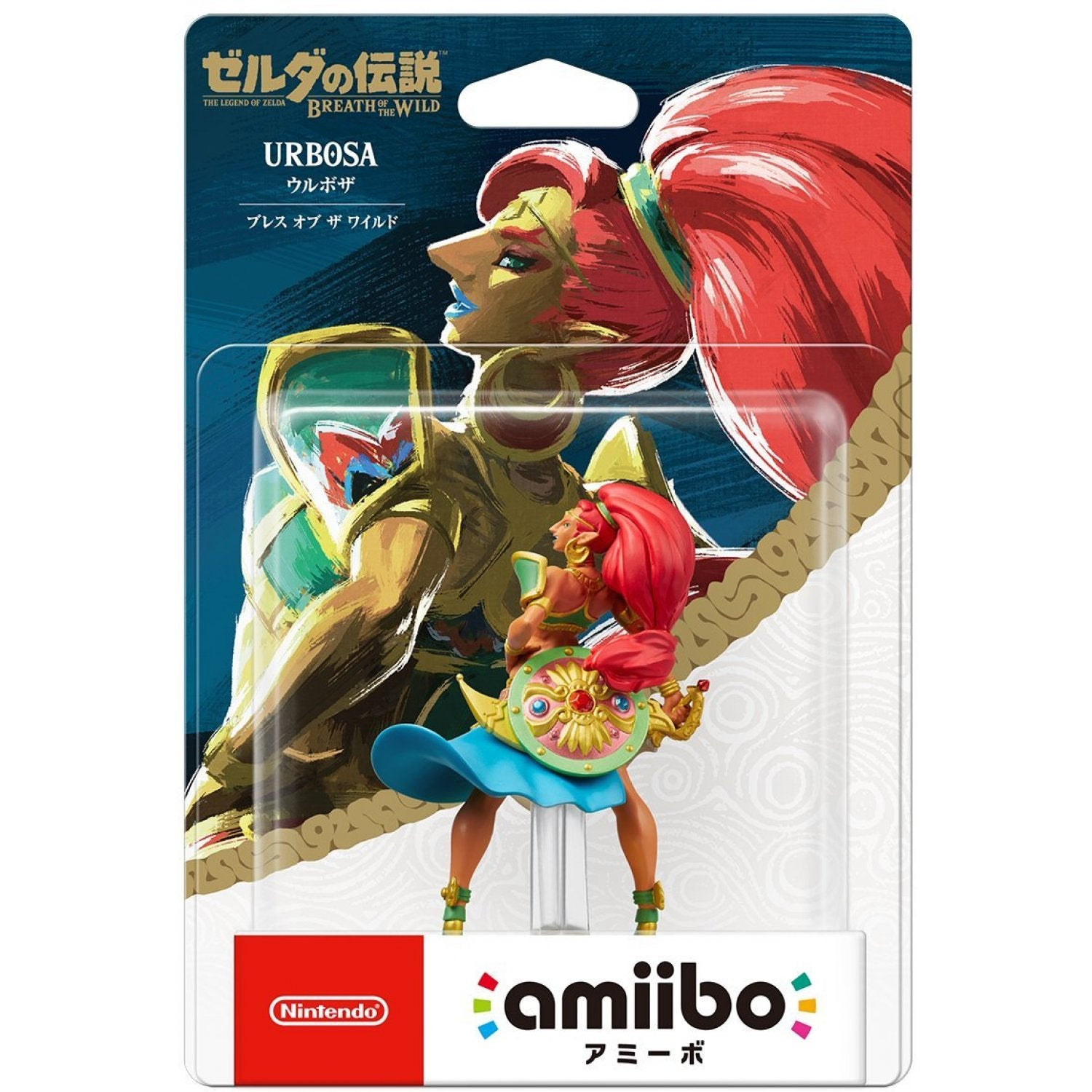 Amiibo The Legend of Zelda: Breath of the Wild Series Figure (Urbosa)
