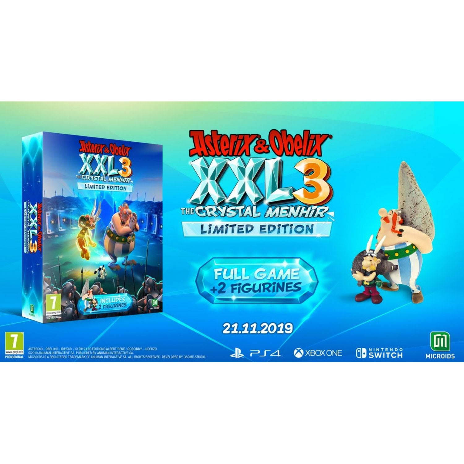 Nintendo Switch Asterix & Obelix XXL 3: The Crystal Menhir [Limited Edition]