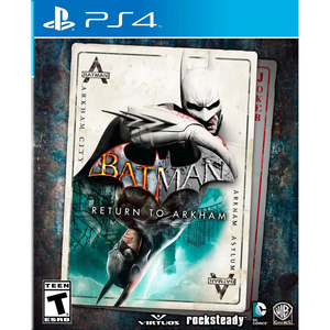 PS4 Batman: Return to Arkham