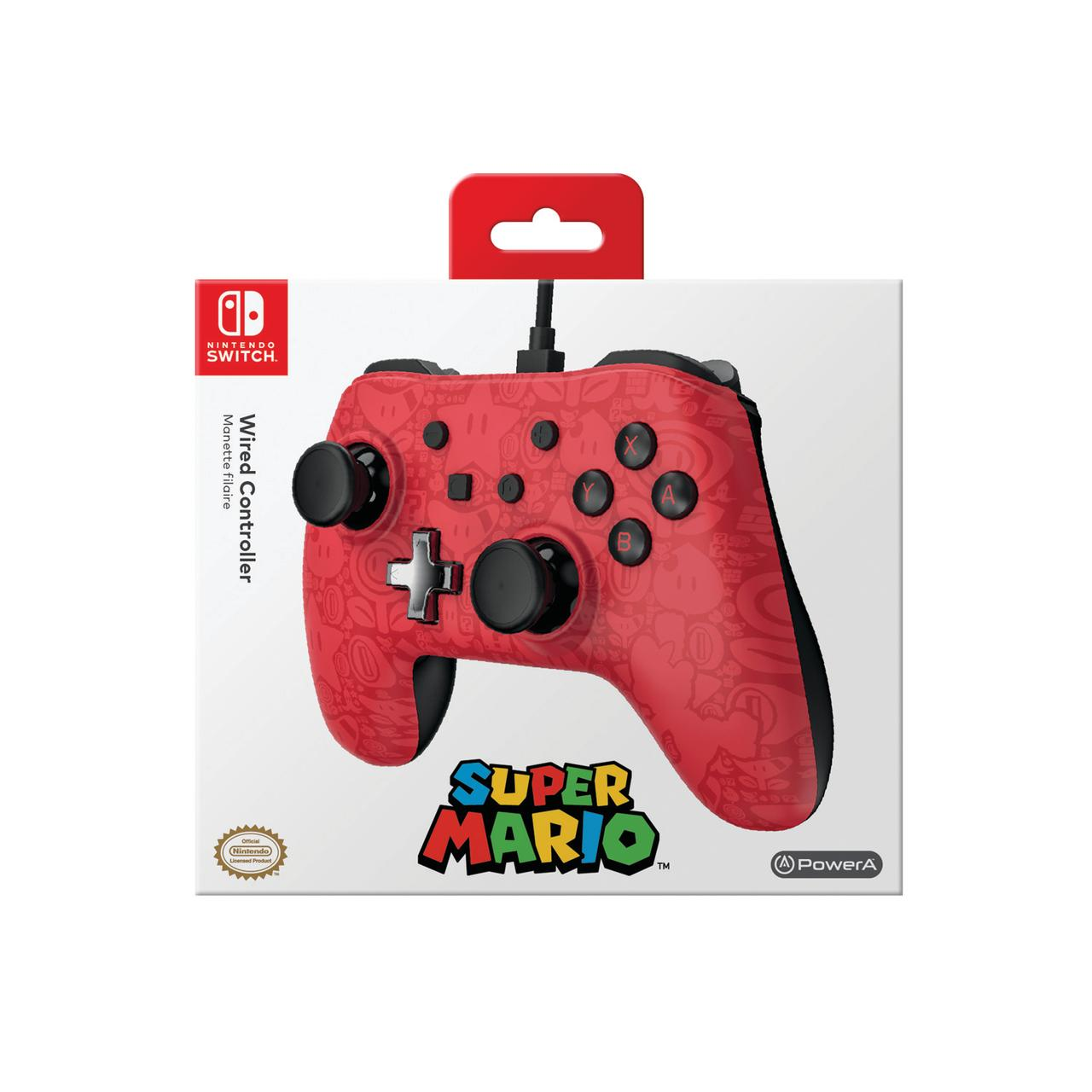 PowerA Wired Controller for Nintendo Switch - Super Mario