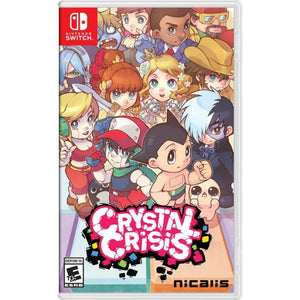 Nintendo Switch Crystal Crisis Launch Edition