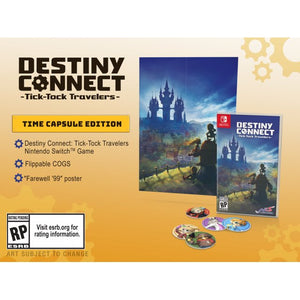 Nintendo Switch Destiny Connect: Tick-Tock Travelers [Time Capsule Edition]