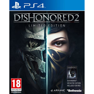 PS4 Dishonored 2 Limited Edition